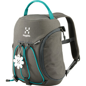 Haglöfs Corker X-Small Backpack Kids 5 L Magnetite/Alpine Green